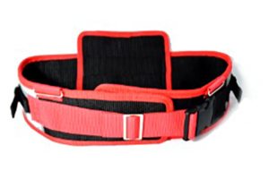 Miner's Belt with Back Support and Reflective