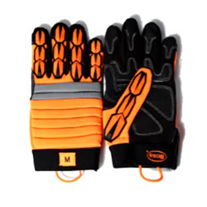 Boss Metacarpal Gloves with Leather Palm