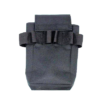 Black Tool Pouch with Velcro Top